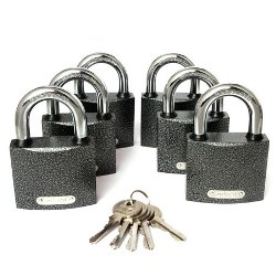 "Замок навесной PD-01-63 (6Locks+5Keys) ""Апекс"""